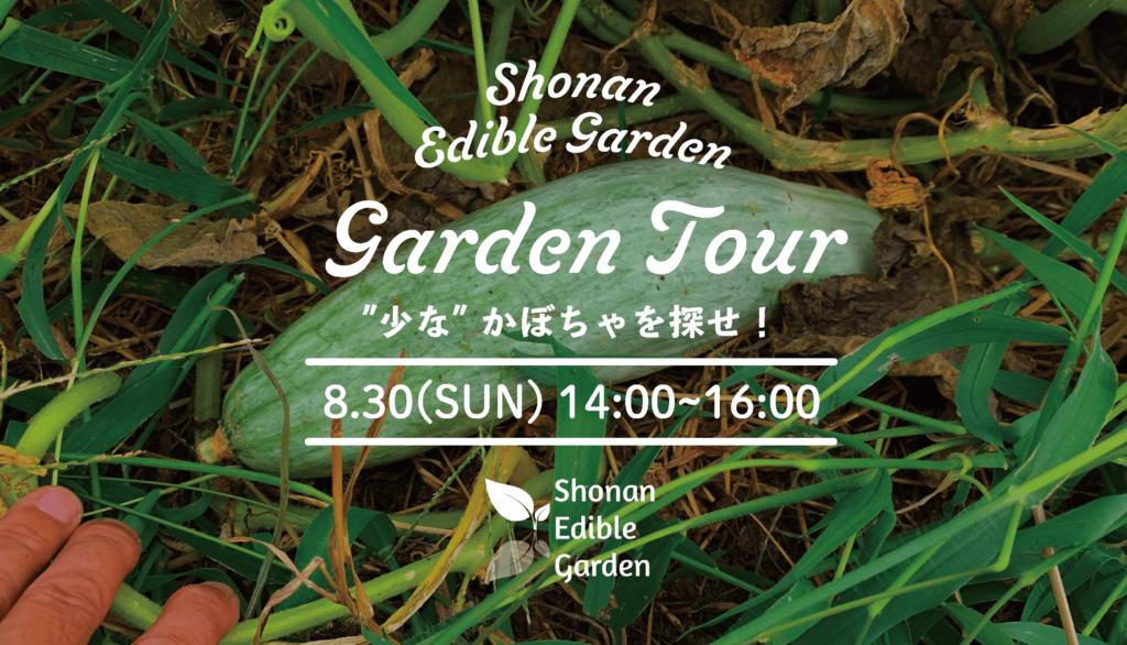 "Shonan Edible Garden (仮)見学会 ""少なかぼちゃを探せ!"""