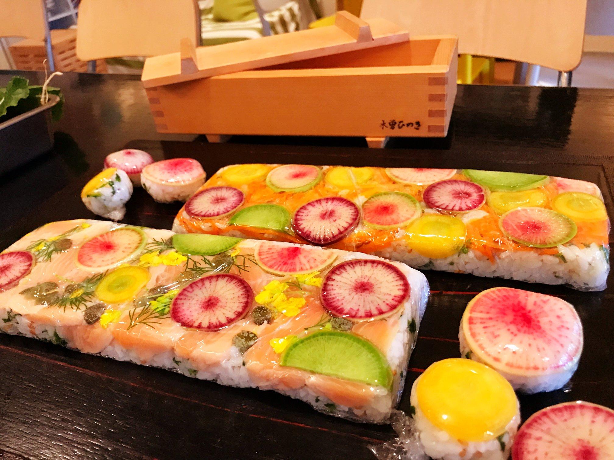 押し寿司ワークショップと型